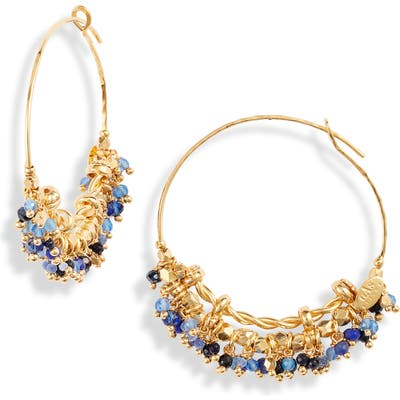 Gas Bijoux Creole Grappia Hoop Earrings