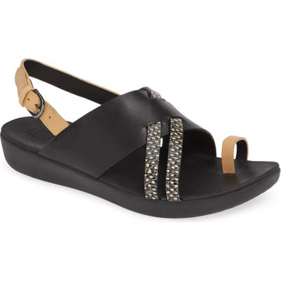 Fitflop Loopy Slingback Sandal, Black (Nordstrom Exclusive)