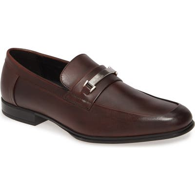 Calvin Klein Dale Bit Loafer, Brown