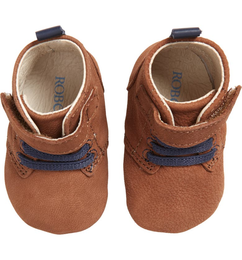 ROBEEZ<SUP>®</SUP> Lucas Crib Shoe, Main, color, 210