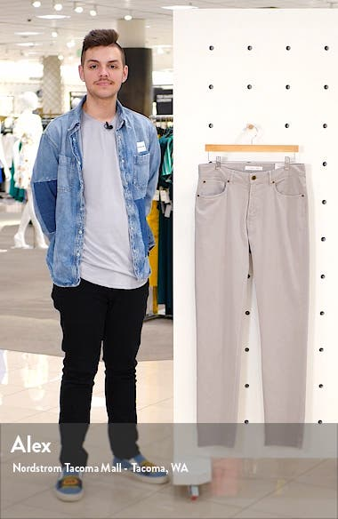 Slim Straight Fit Corduroy Pants, sales video thumbnail