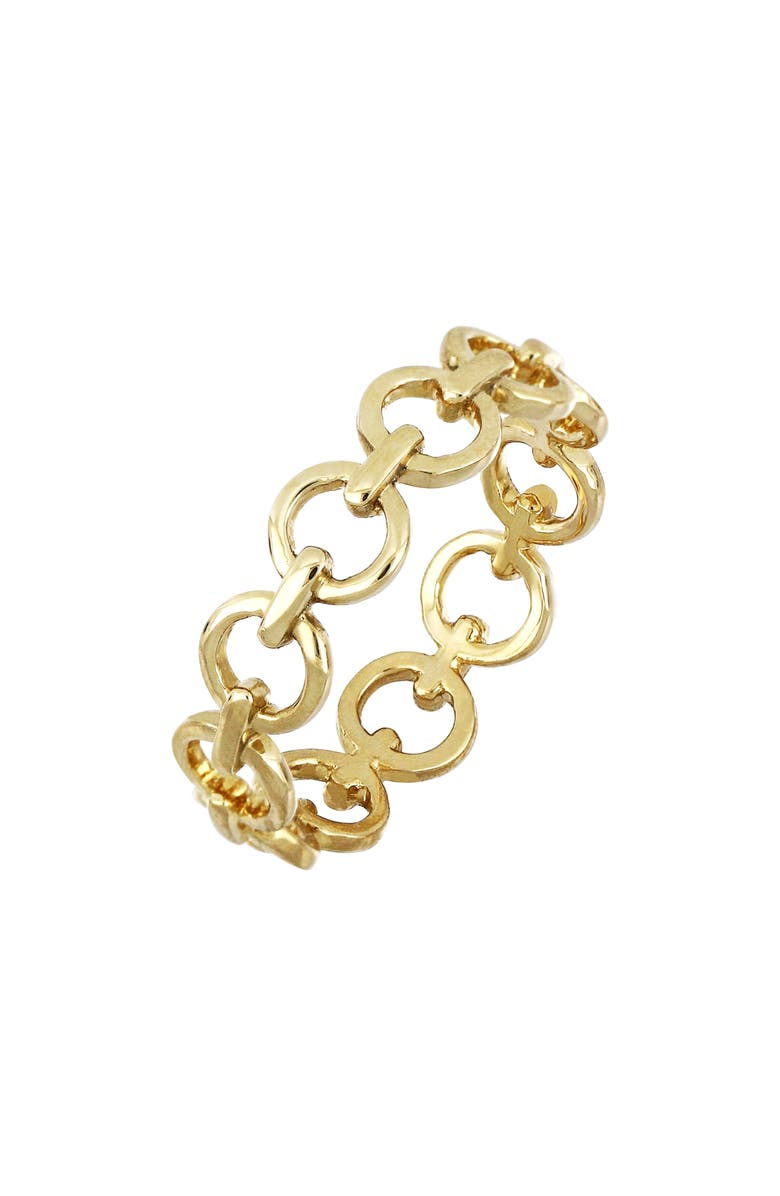 BONY LEVY 14K Gold Link Ring, Main, color, YELLOW GOLD
