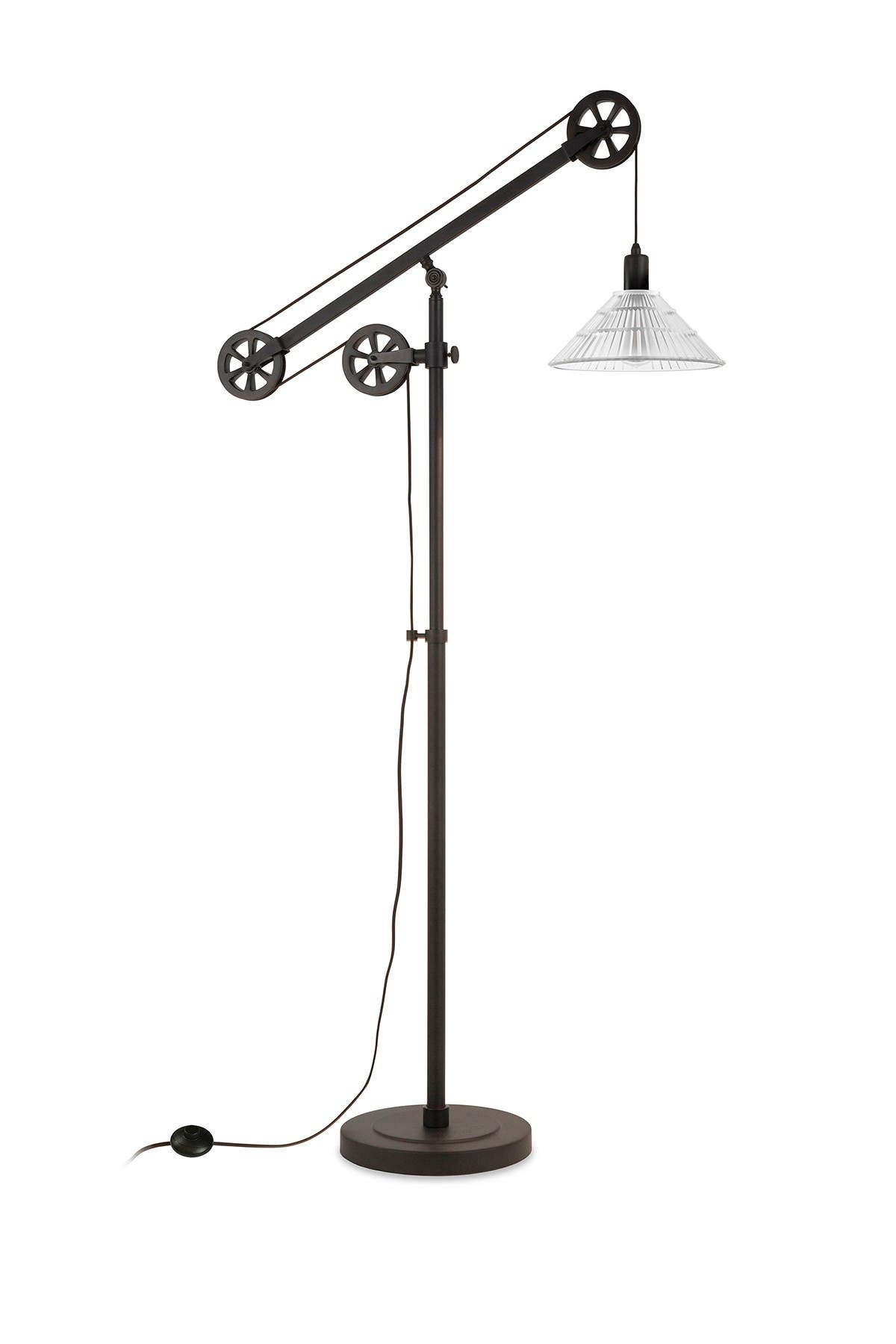 Image of Addison and Lane Descartes Floor Lamp - Blackened Bronze Finish