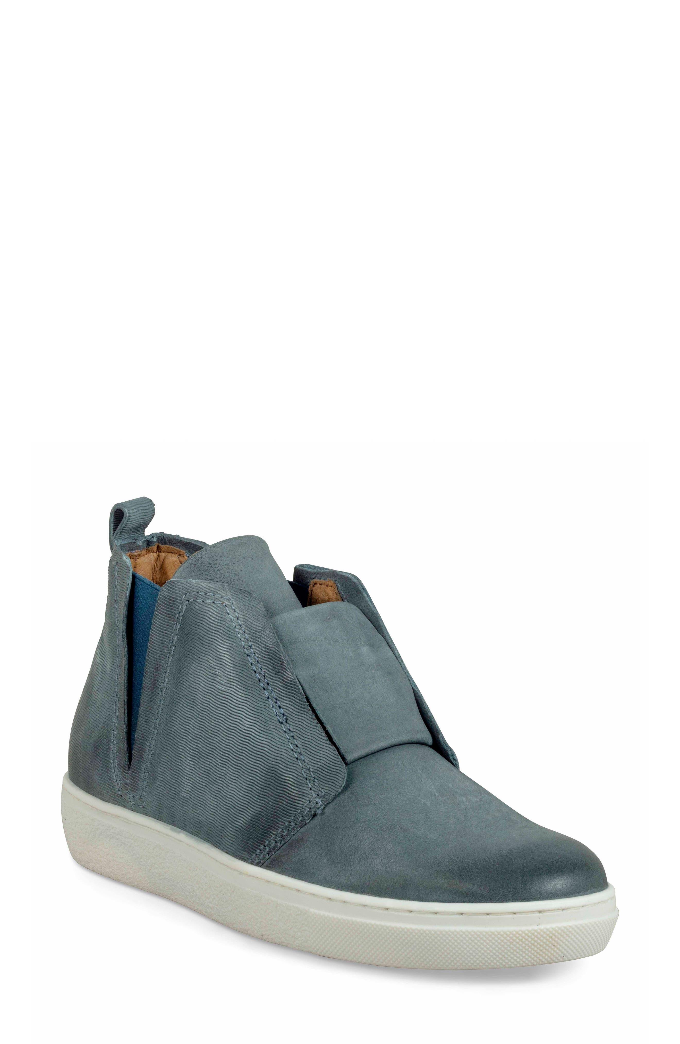 Miz Mooz Laurent High Top Sneaker - Blue