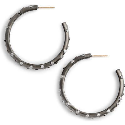 Freida Rothman Chunky C-Hoop Earrings