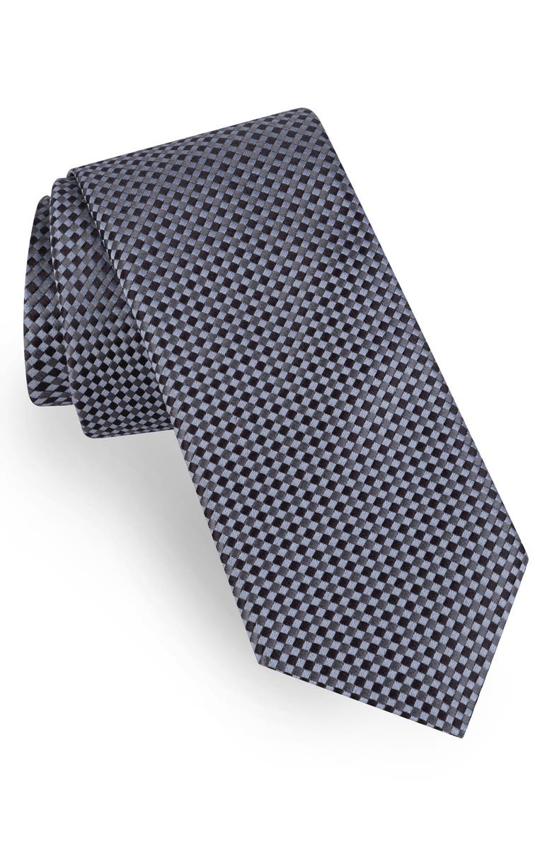 TED BAKER LONDON Neat Silk Tie, Main, color, 020