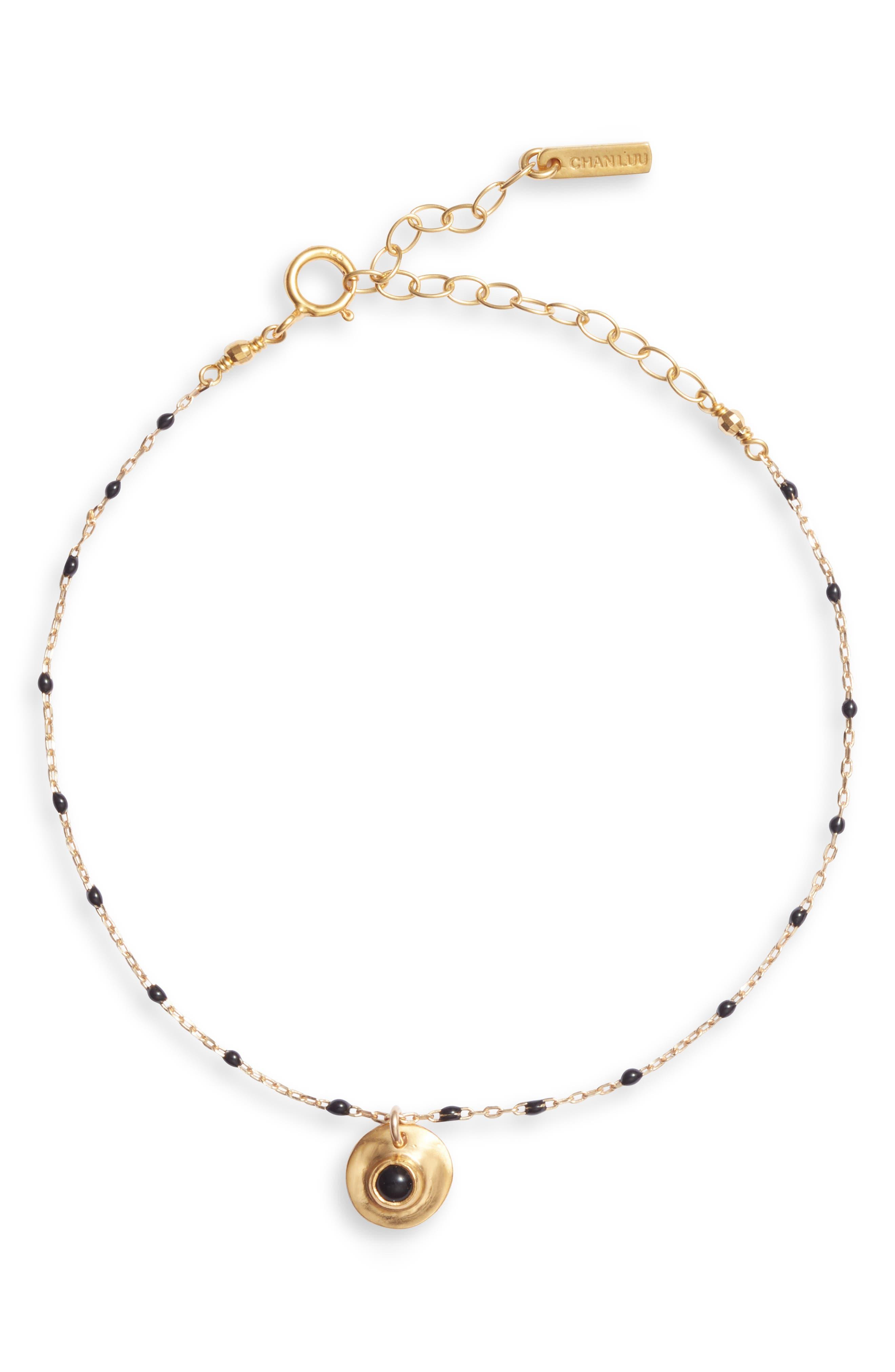 Enamel Beaded Bracelet