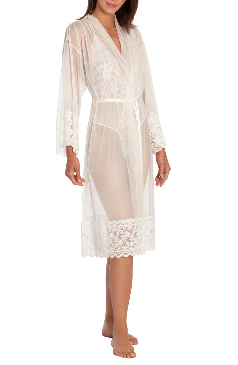 IN BLOOM BY JONQUIL Say Yes Sheer Robe, Main, color, IVORY