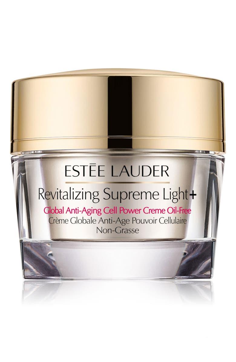 ESTÉE LAUDER Revitalizing Supreme Light+ Global Anti-Aging Cell Power Creme Oil-Free, Main, color, NO COLOR