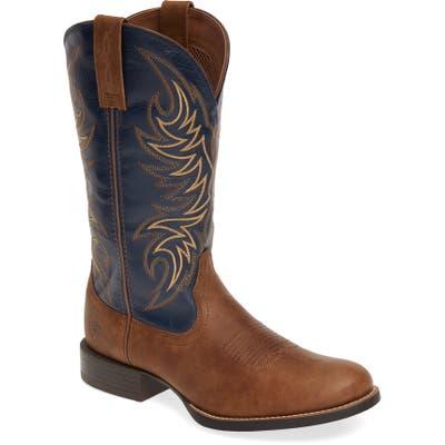 Ariat Sport Horsemen Cowboy Boot, Brown