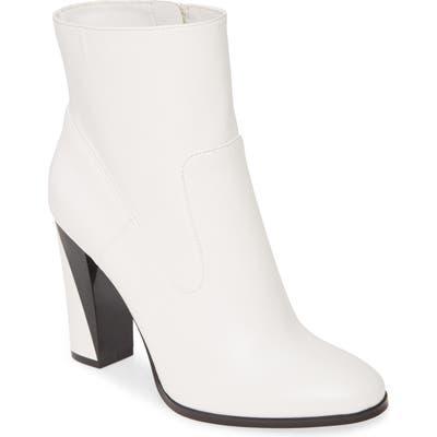 Calvin Klein Canela Colorblock Bootie, White