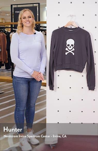 Laura Crop Sweatshirt, sales video thumbnail