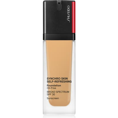 Shiseido Synchro Skin Self-Refreshing Liquid Foundation - 340 Oak