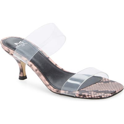 Marc Fisher Ltd Guadia Sandal- Pink