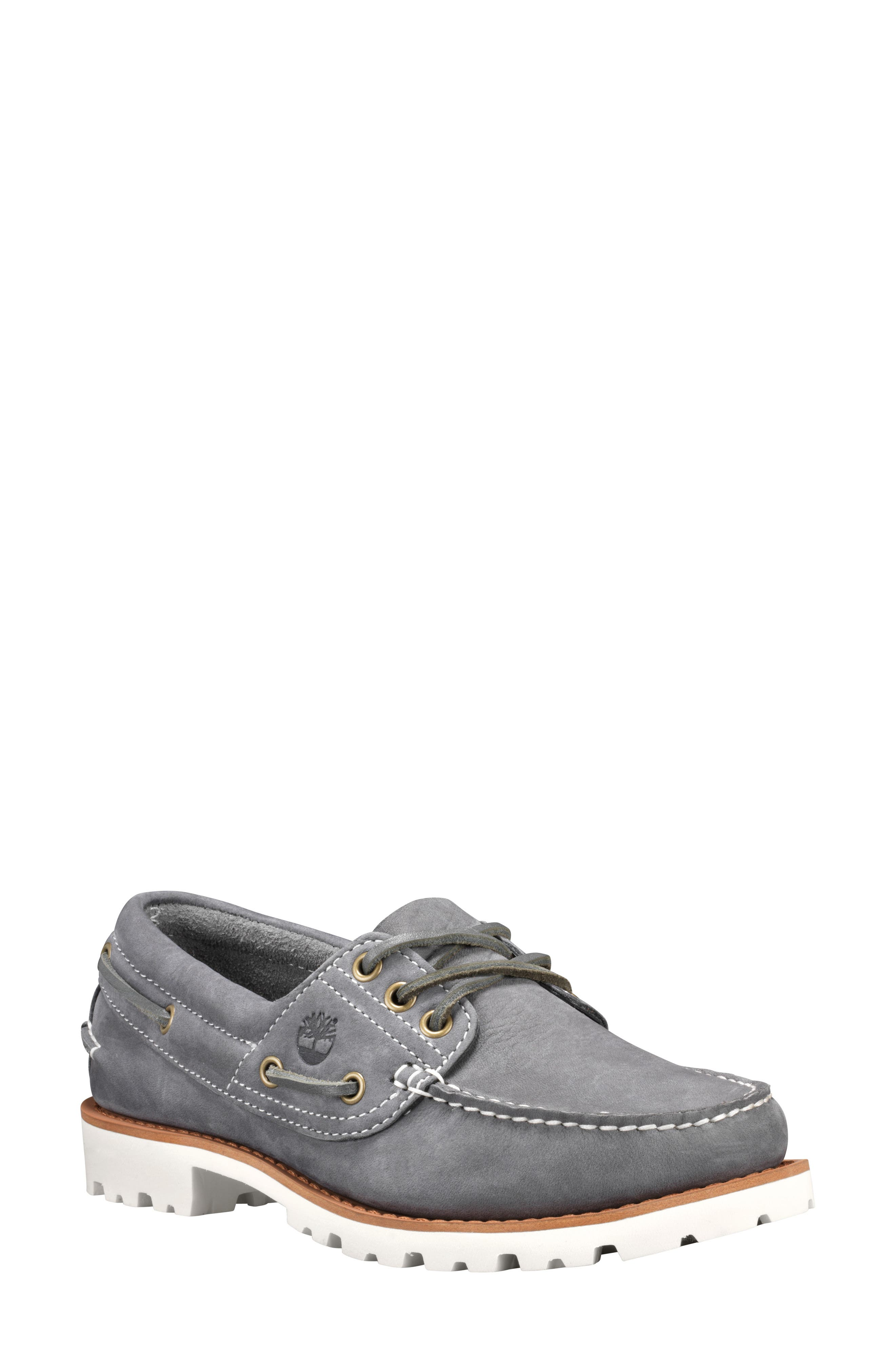 Timberland Noreen Boat Shoe, Grey