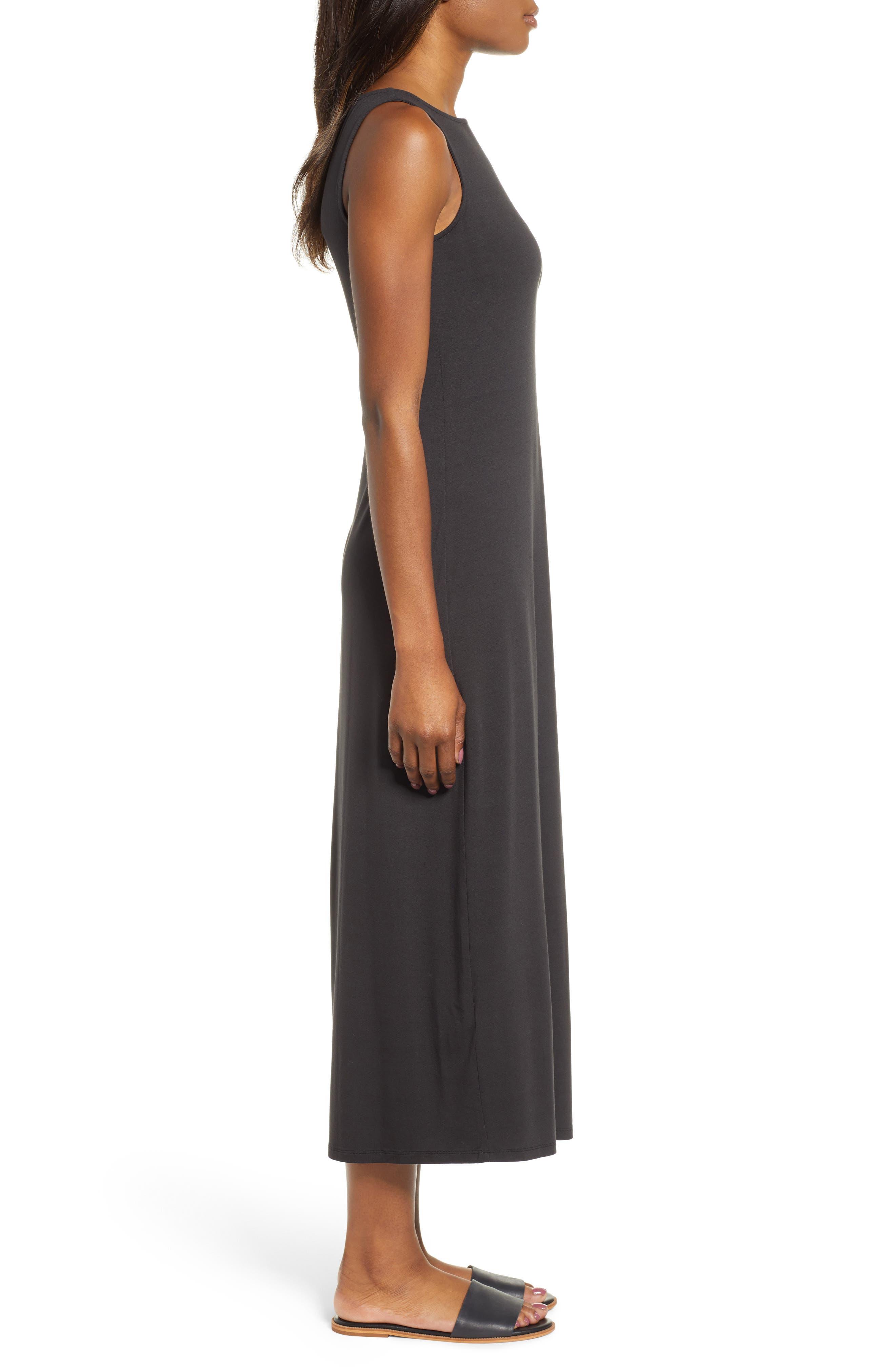 ,                             Tambour Midi Dress,                             Alternate thumbnail 2, color,                             BLACK