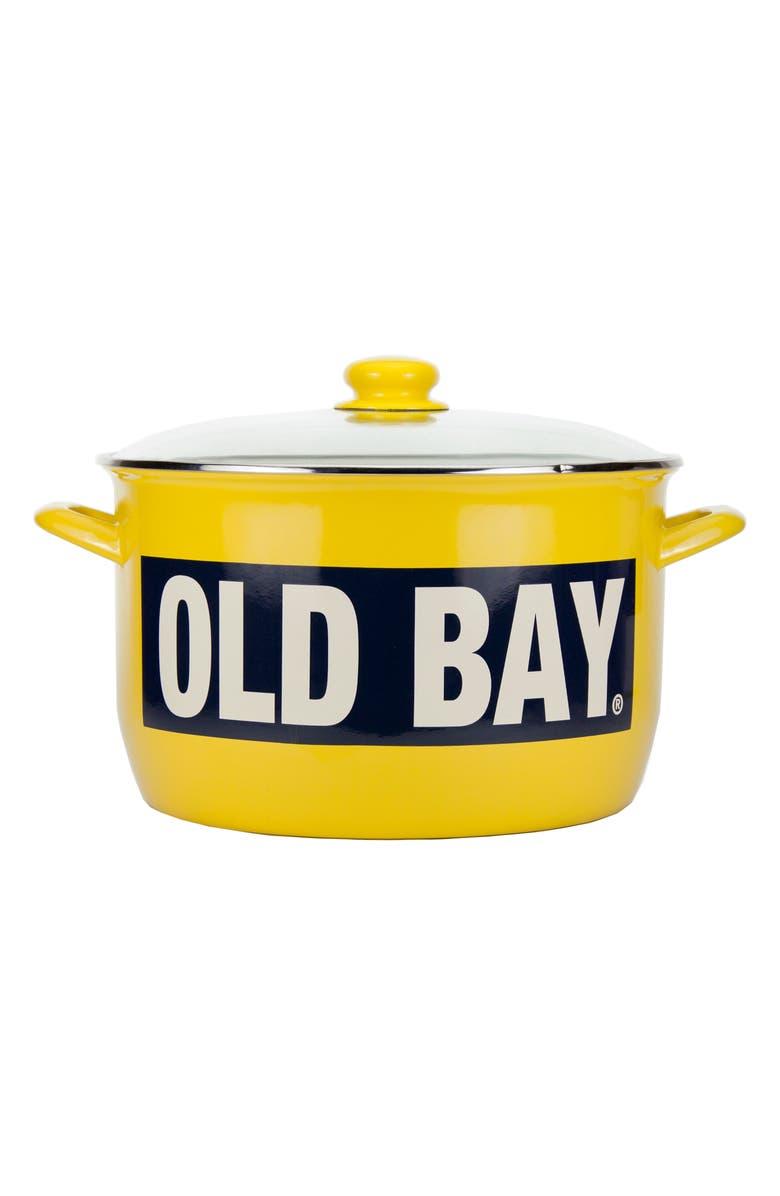 GOLDEN RABBIT Old Bay 18-Quart Stock Pot, Main, color, OLD BAY