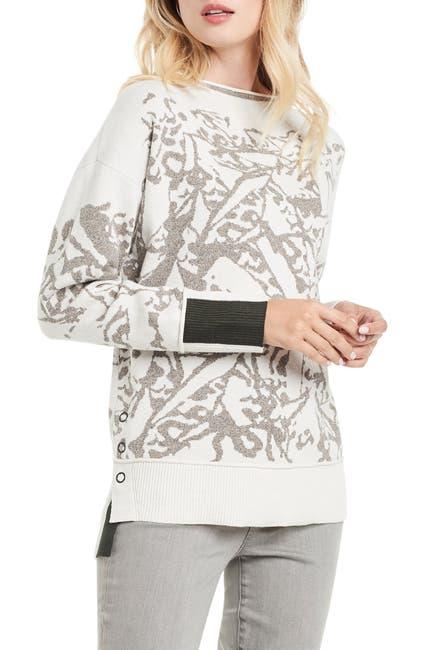 Image of NIC+ZOE Snowbird Jacquard Knit Sweater