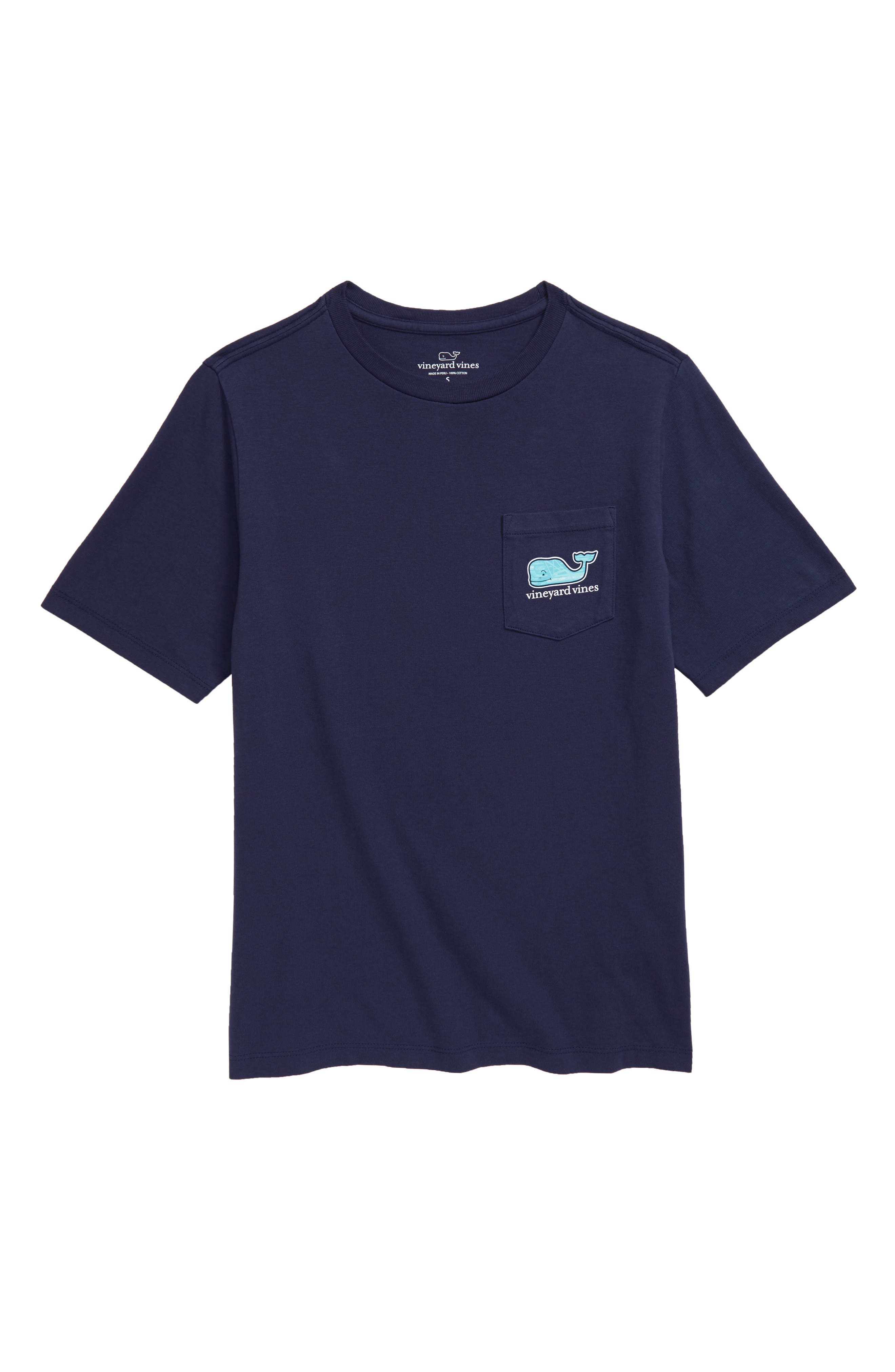 Toddler Boys Vineyard Vines Summer Sailing Whale TShirt Size 4T  Blue