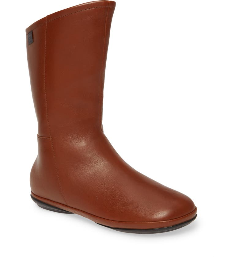 CAMPER Right Nina Gore-Tex<sup>®</sup> Waterproof Boot, Main, color, BROWN LEATHER