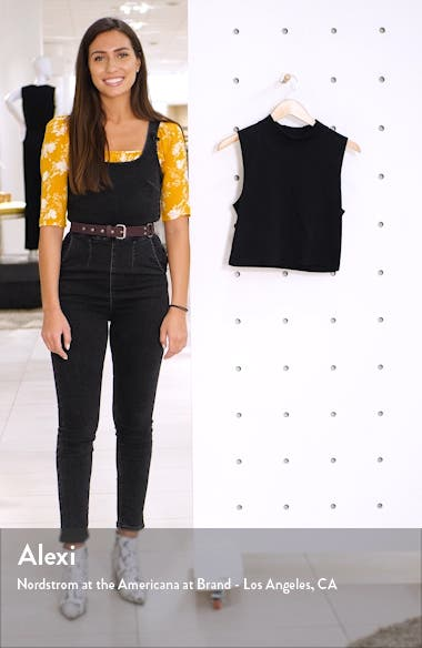 x Claudia Sulewski Mock Neck Crop Top, sales video thumbnail