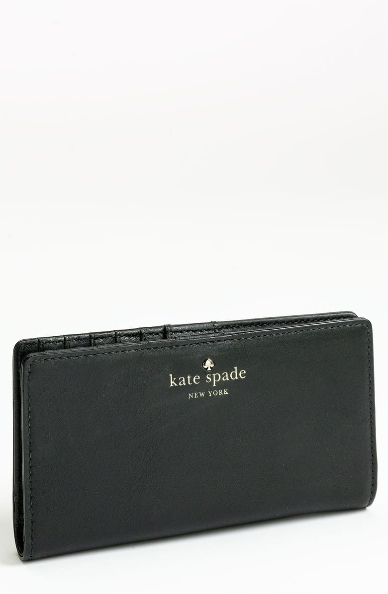 KATE SPADE NEW YORK 'stacy' wallet, Main, color, 001