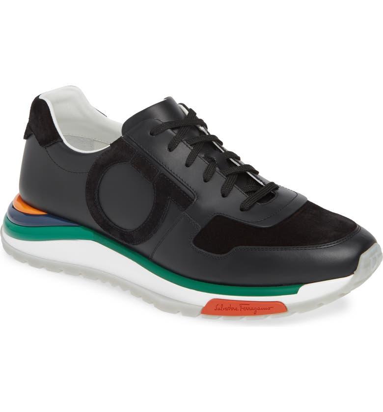 SALVATORE FERRAGAMO Brooklyn Shoe, Main, color, NERO/ NERO
