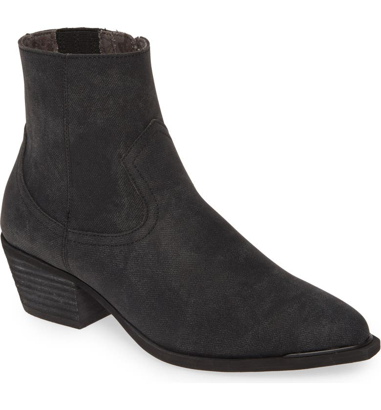 BAND OF GYPSIES Creed Bootie, Main, color, DENIM STAMP/ CHARCOAL