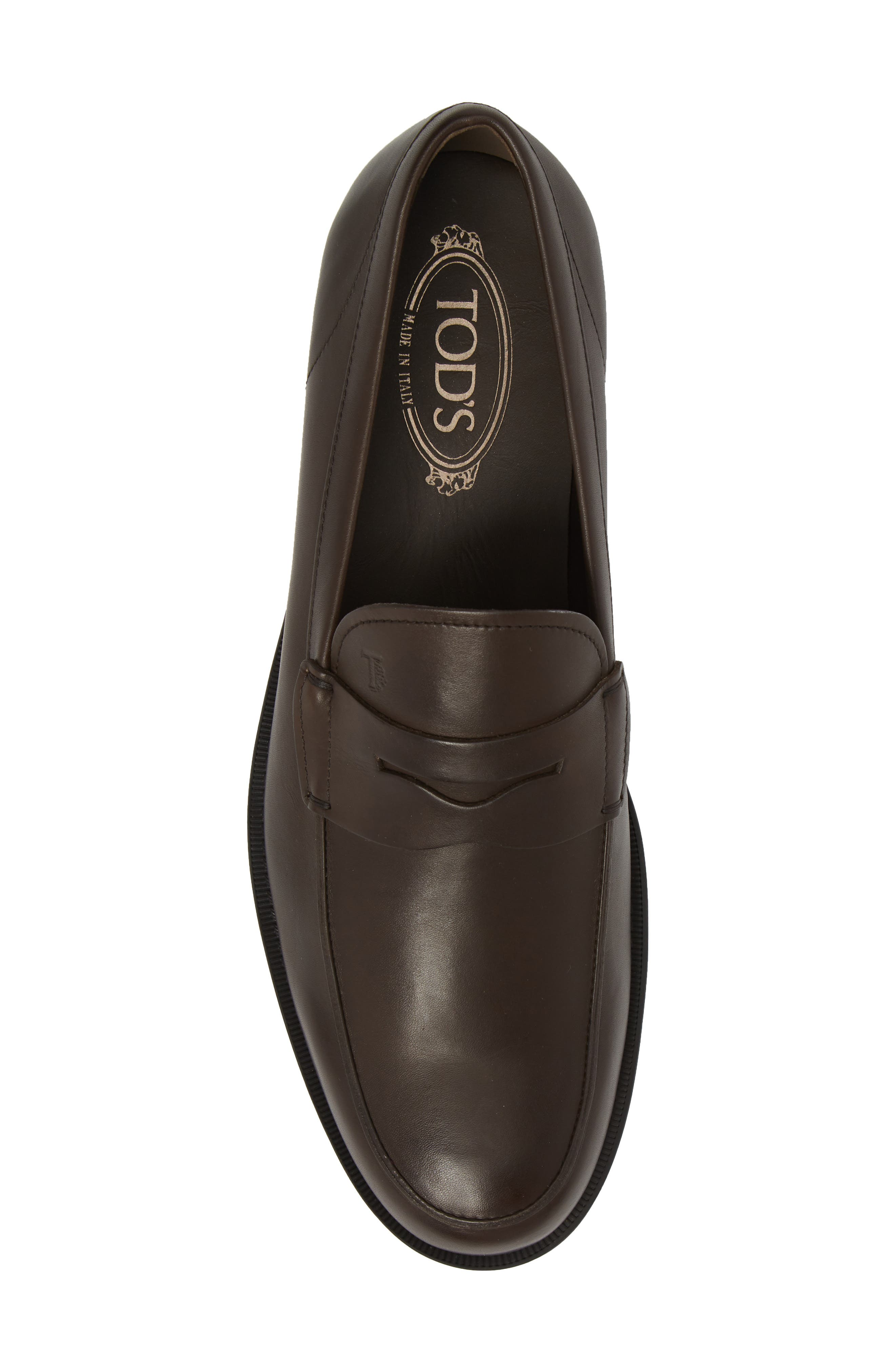 ,                             Penny Loafer,                             Alternate thumbnail 5, color,                             BROWN