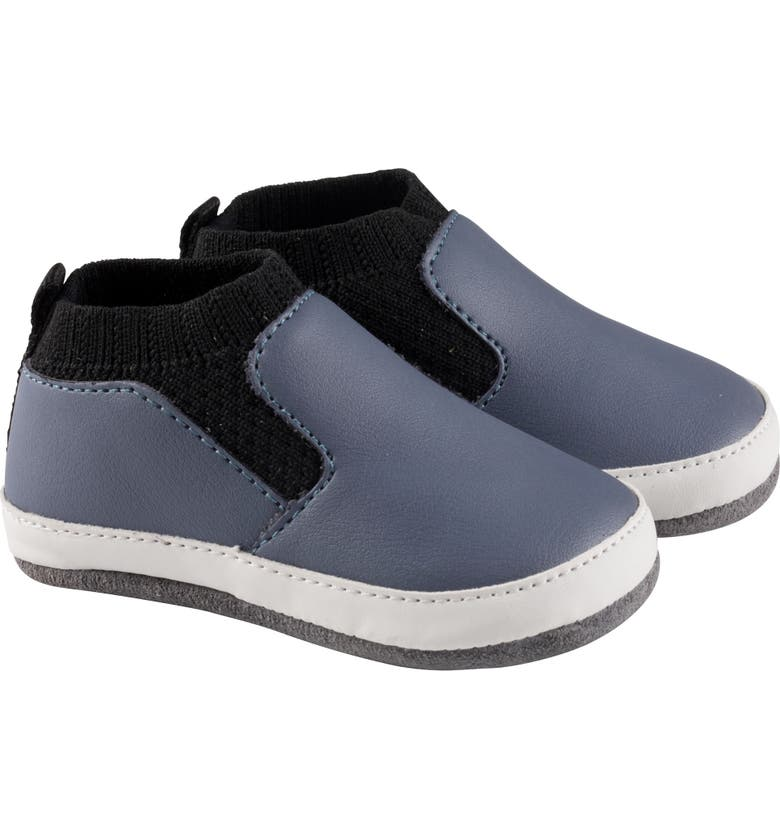 ROBEEZ<SUP>®</SUP> Maddox Crib Sneaker, Main, color, BLUE
