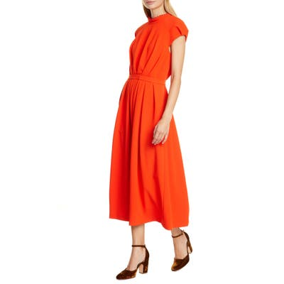Rachel Comey Axil Midi Dress, Red