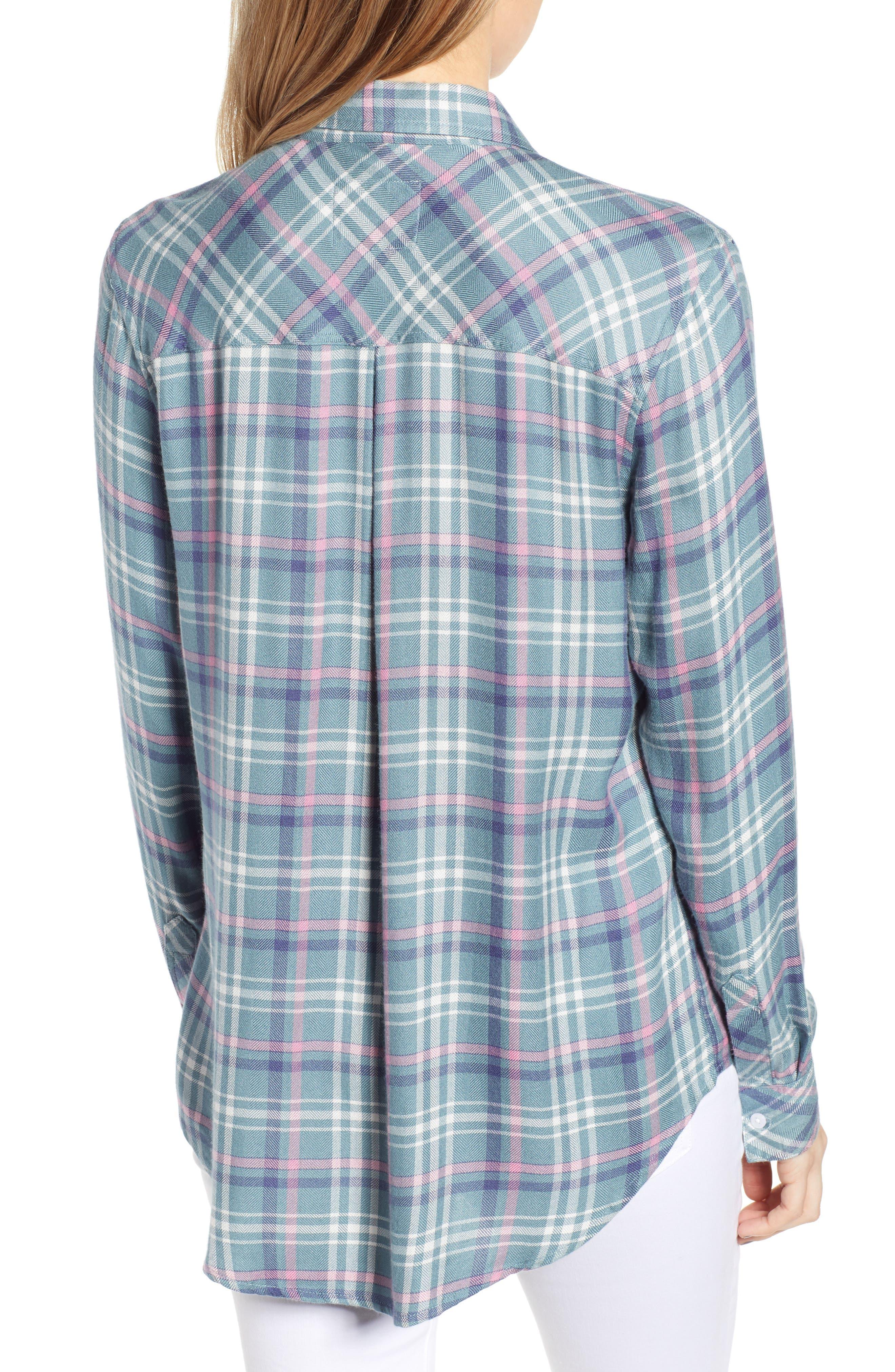 ,                             Hunter Plaid Shirt,                             Alternate thumbnail 130, color,                             452