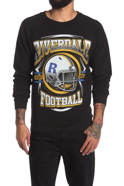 Image of Philcos Archie Riverdale Football Graphic Crew Neck Sweatshirt