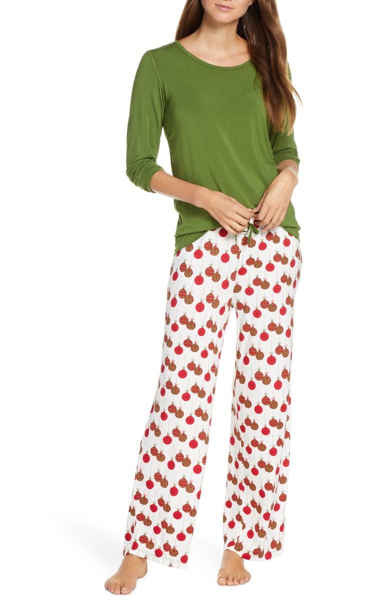 KICKEE PANTS Loosey Goosey Pajamas, Main, color, 301
