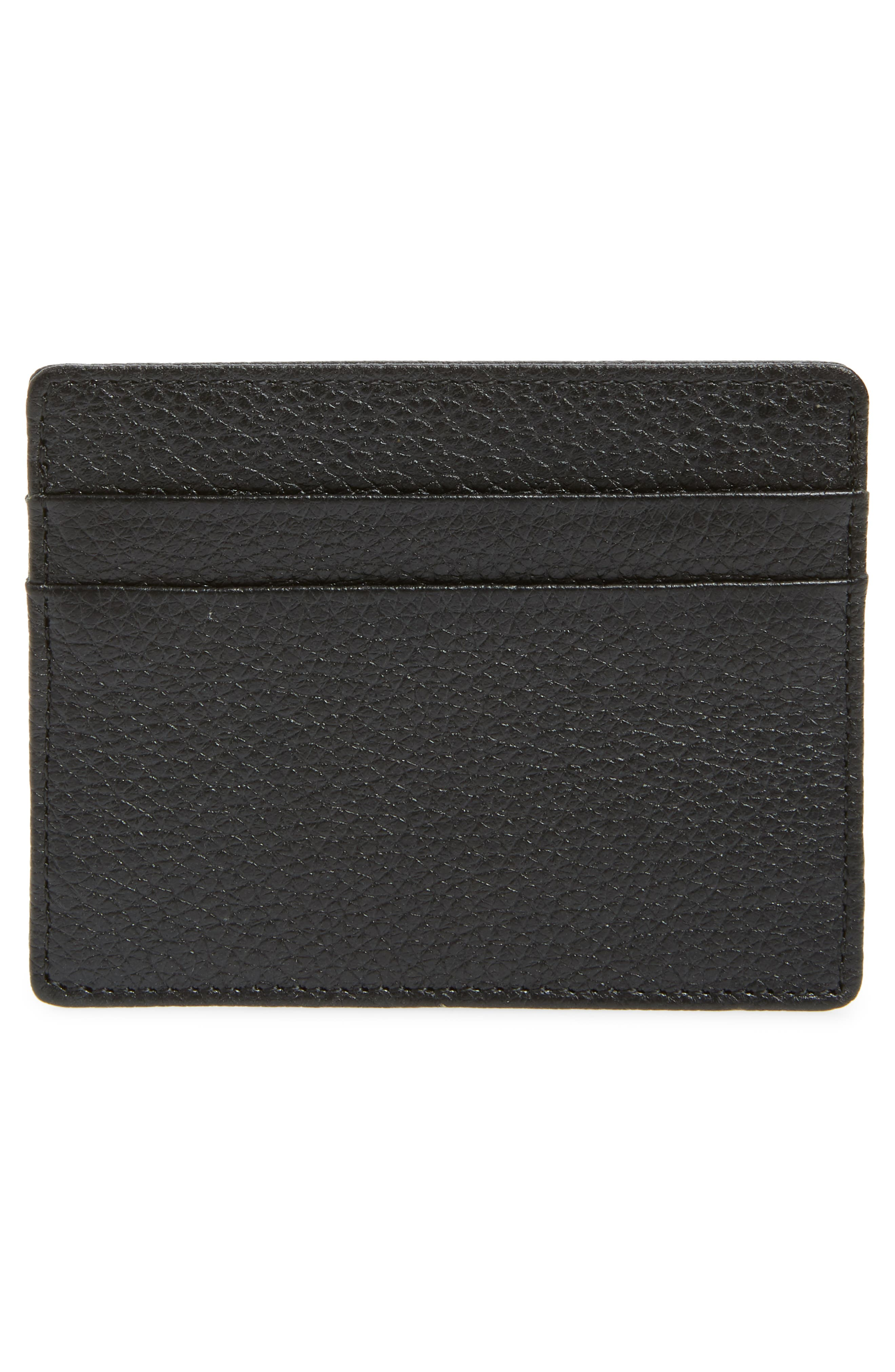 ,                             Jamie Leather Card Case,                             Alternate thumbnail 2, color,                             001