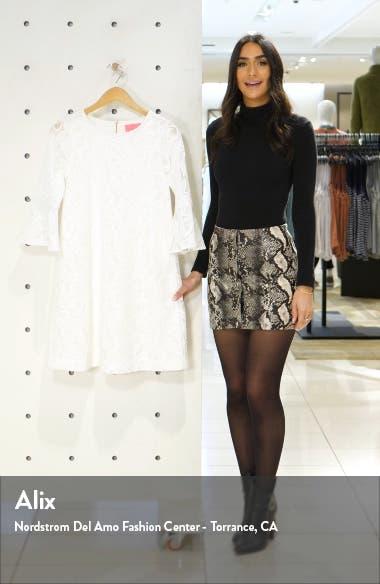 Ophelia Lace Shift Dress, sales video thumbnail