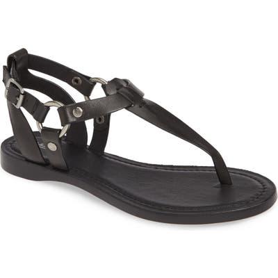 Frye Rachel T-Strap Sandal- Black
