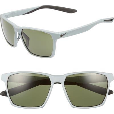 Nike Maverick 5m Sunglasses - Matte Wolf Grey/ Green