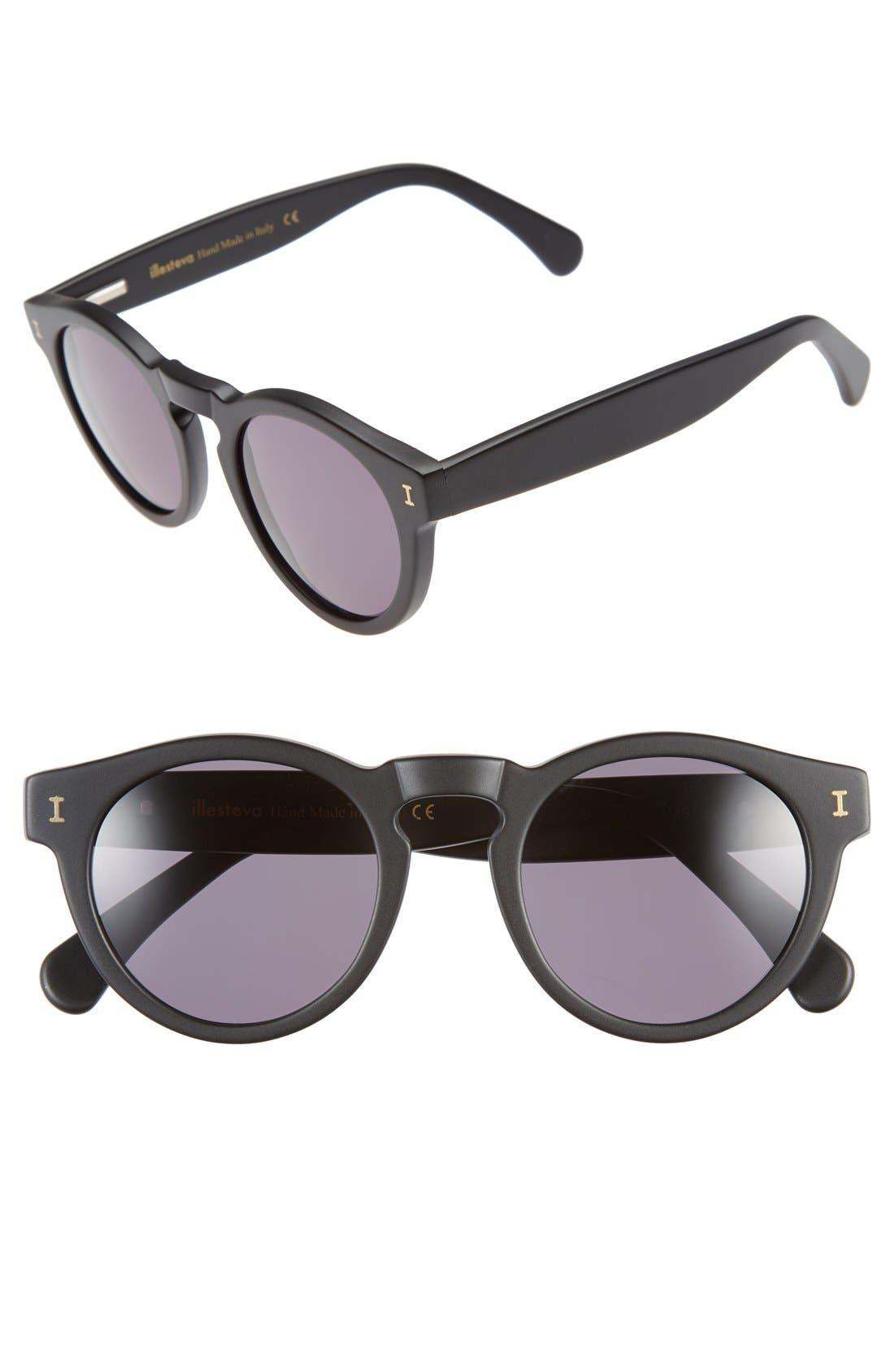 ,                             'Leonard' 47mm Sunglasses,                             Main thumbnail 25, color,                             019