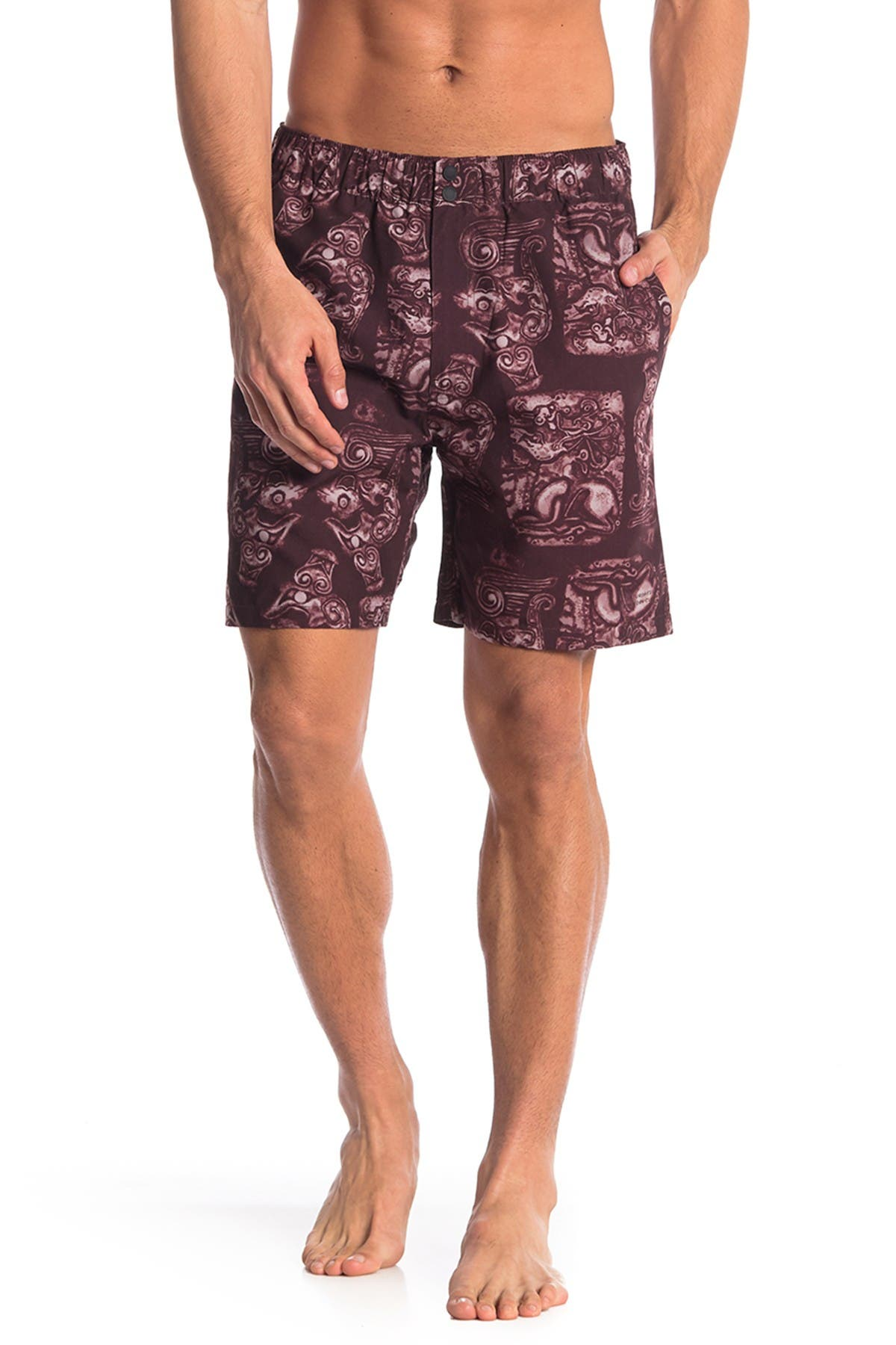 Image of SATURDAYS NYC Trent Pendant Swim Shorts