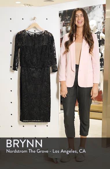 Soutache Embroidered Blouson Dress, sales video thumbnail