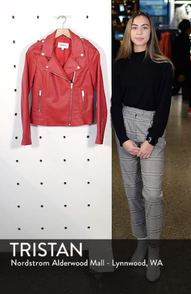 Beverly Thrills Faux Leather Jacket, sales video thumbnail