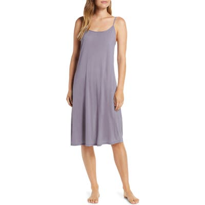 Natori Jersey Nightgown, Blue (Nordstrom Exclusive)