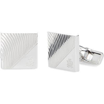 Dunhill Sterling Silver Cuff Links