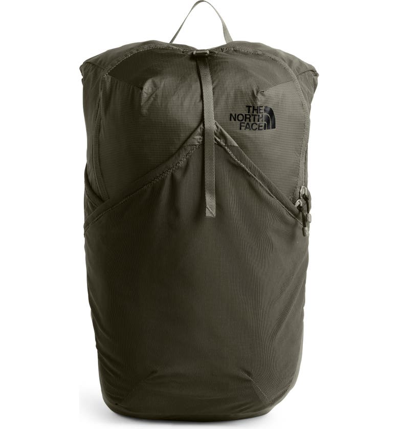 THE NORTH FACE 'Flyweight' Water Resistant Pack, Main, color, NEW TAUPE GREEN