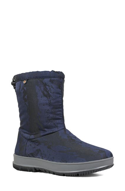 Image of Bogs Snowday Faux Fur Lined Mid Mountain Boot