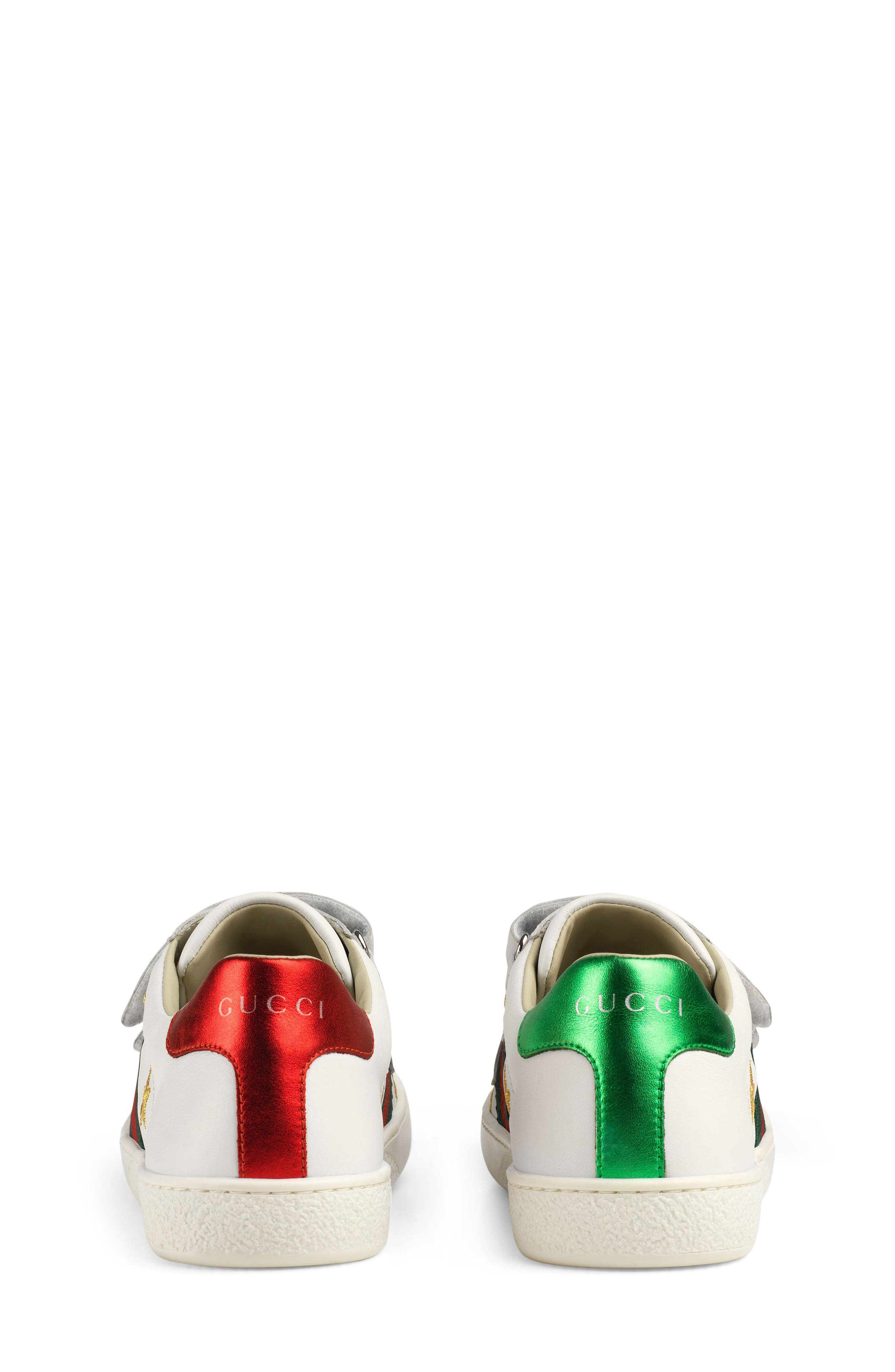 ,                             New Ace Embroidered Sneaker,                             Alternate thumbnail 2, color,                             WHITE STAR