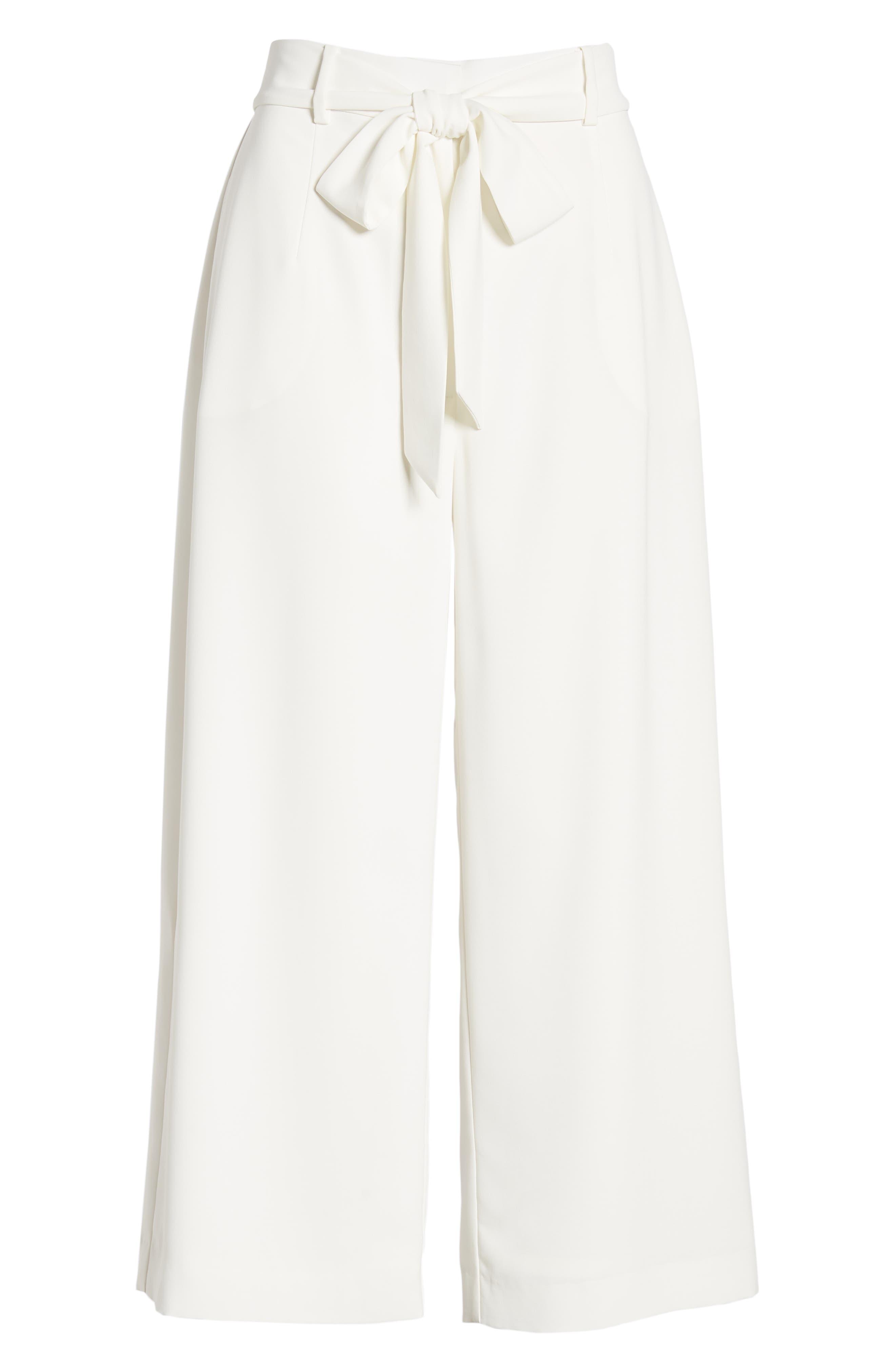 ,                             Layne Pintuck Belted Pants,                             Alternate thumbnail 7, color,                             900