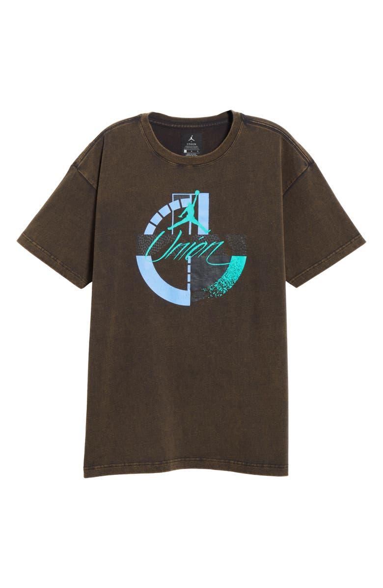JORDAN Flight Men's Graphic T-Shirt, Main, color, BLACK