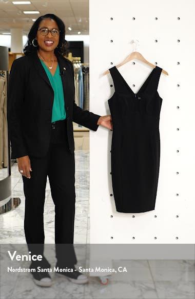 Mesh Inset Body-Con Dress, sales video thumbnail